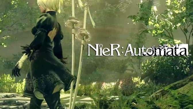 New Trailer for NieR: Automata Has Weapon Collaborations on Display