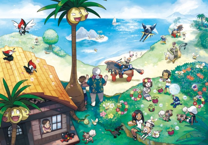 Pokémon Sun and Moon Review