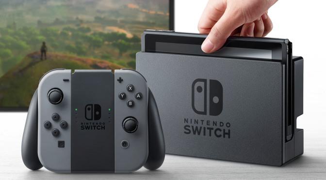 Nintendo Switch Presentation Date & Time Finalized