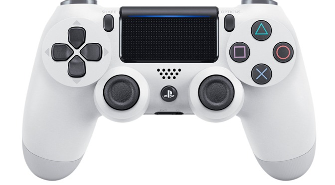 Glacier White PS4 Slim Announced, Arriving This Month