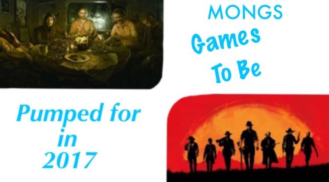 Games to be pumped for in 2017