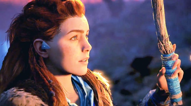 Go Behind the Scenes of Creating Aloy in Horizon Zero Dawn Video
