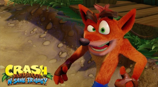 Crash Bandicoot returns to PlayStation this summer with N.Sane Trilogy
