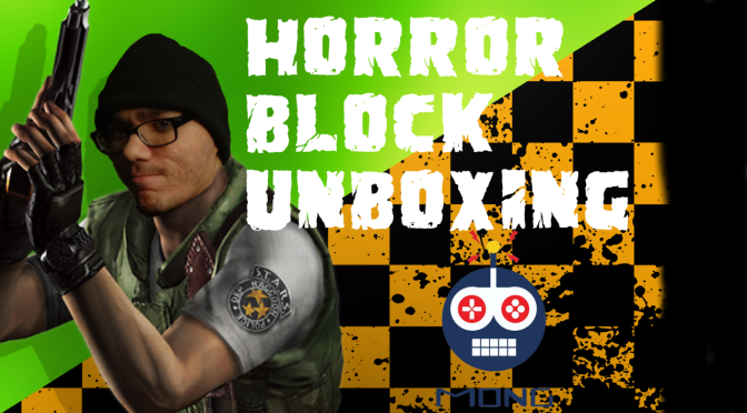January 2017 Horror Block Unboxing