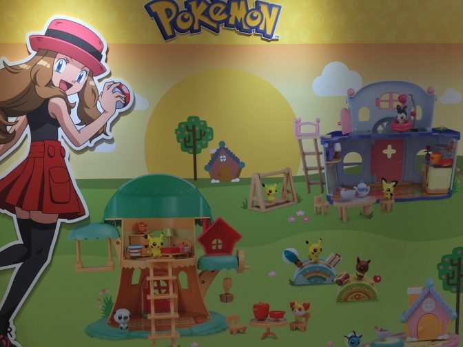 New Pokémon Figures Gleaming With Cuteness – NY Toy Fair 2017