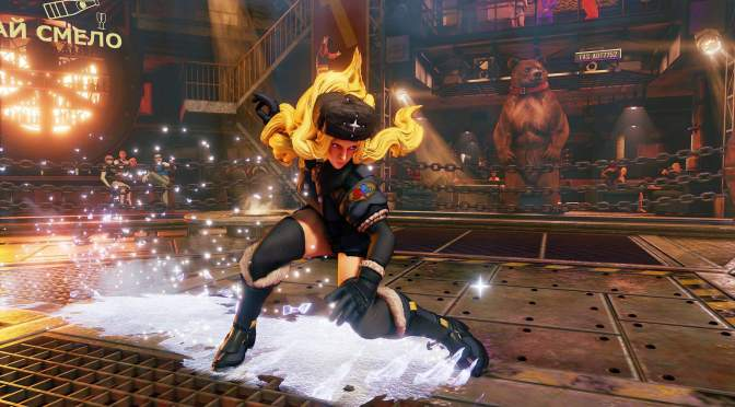 Chill Out with Kolin in Street Fighter V character introduction