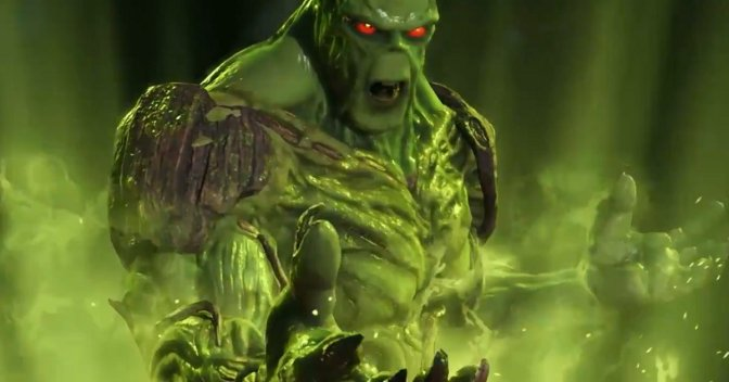 Swamp Thing Revealed for Injustice 2