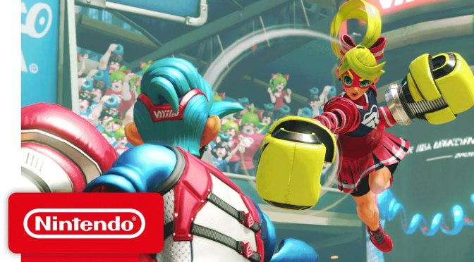 Meet the Cast of Arms in Character Introduction Video From Nintendo