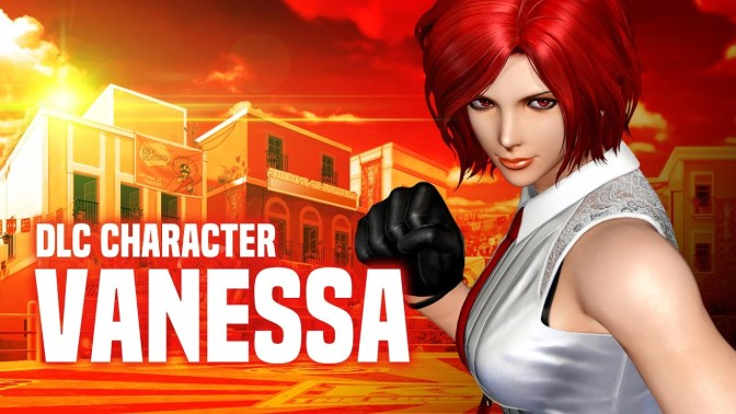 Vanessa Punches Her Way Into The King of Fighters XIV
