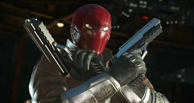 Red Hood Comes Out Guns Blazing in Injustice 2 Character Trailer