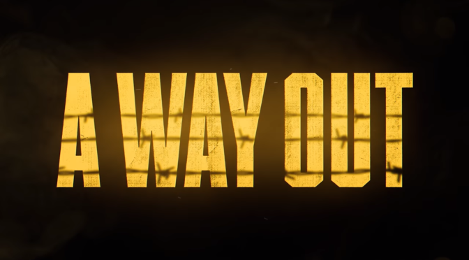 New Co-Op Title A Way Out Revealed