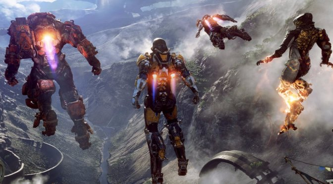 Anthem Gameplay Footage Unveiled