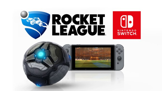 Rocket League Launches on Switch Holiday 2017