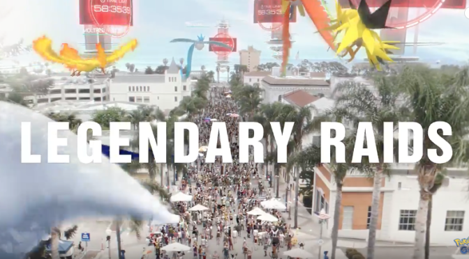 Legendary Raids Announced For Pokemon GO