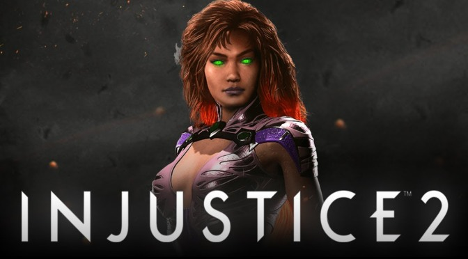 Starfire Shines for Injustice 2
