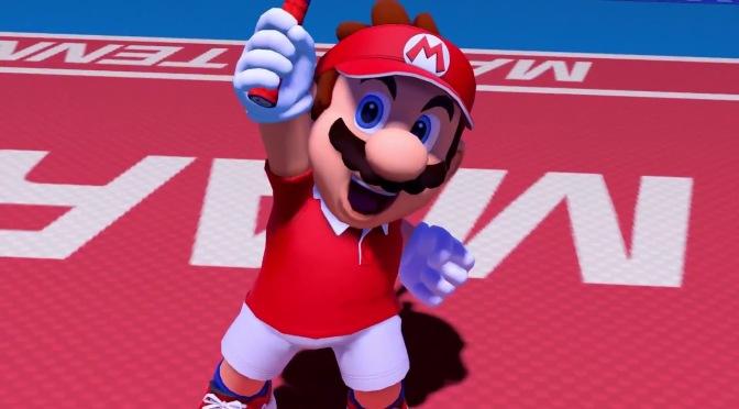 Mario Tennis Aces Swings Onto the Nintendo Switch This Spring
