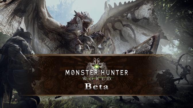 Monster Hunter: World Final Beta Announced