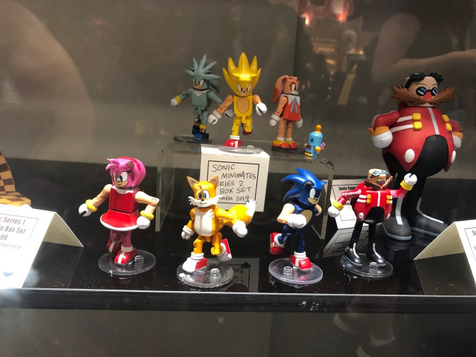 New Sonic Figures Showcased – NYCC 2018