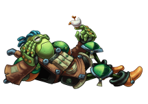 SteamWorld_Quest_Galleo_Pose
