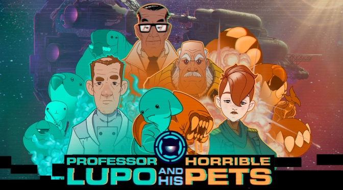 Professor Lupo and His Horrible Friends Review