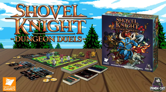 Hands on with Shovel Knight: Dungeon Duels Board Game