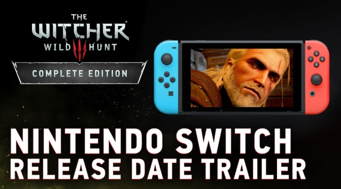 The Witcher 3 Coming to Nintendo Switch This October